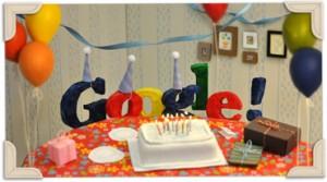 День рождения Google 13